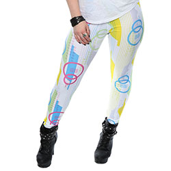 Star Wars Ladies Leggings: The Force Awakens BB-8 Pattern