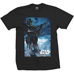 Star Wars Unisex Tee: Rogue One Death Trooper