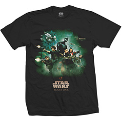 Star Wars Men's Tee: Rogue One Rebels Poster