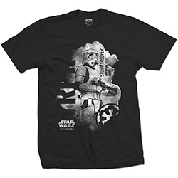 Star Wars Unisex Tee: Rogue One Stormtrooper