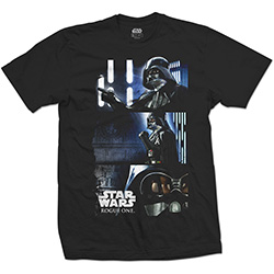 Star Wars Unisex Tee: Rogue One Darth Triptych