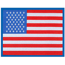 Generic Standard Patch: Stars & Stripes Flag (Loose)