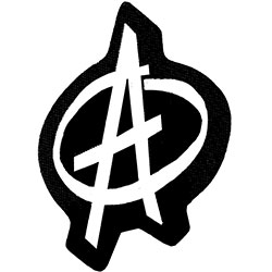Generic Standard Patch: Anarchy Symbol (Loose)