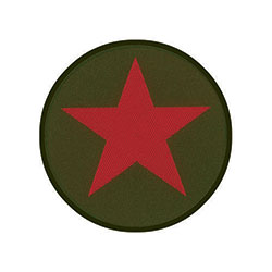 Che Guevara Standard Patch: Red Star/Khaki (Loose)