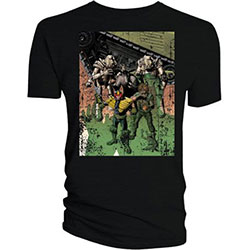 2000 AD Unisex Tee: Dredd & Ladies Bolland Cover Art