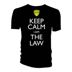 2000 AD Men's Tee: Keep Calm I am the Law