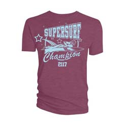 2000 AD Unisex Tee: Supersurf Champion 2117