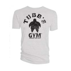 2000 AD Unisex Tee: Tubbs Gym - Embrace Your Waist