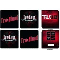 True Blood Coaster Set: Mixed