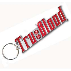 True Blood Standard Keychain: Drink Logo