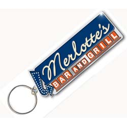 True Blood Standard Keychain: Merlottes