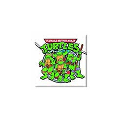Teenage Mutant Ninja Turtles Fridge Magnet: Group Graphic