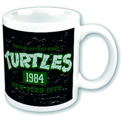 Teenage Mutant Ninja Turtles Boxed Standard Mug: NYC 1983.