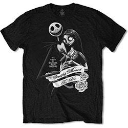 The Nightmare Before Christmas Unisex Tee: Simply Meant To Be