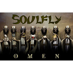 Soulfly Textile Poster: Omen
