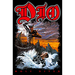 Dio Textile Poster: Holy Diver