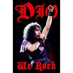 Dio Textile Poster: We Rock