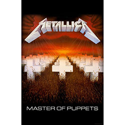 Metallica Textile Poster: Master of Puppets