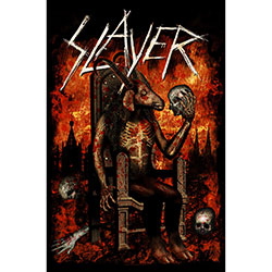 Slayer Textile Poster: Devil on Throne