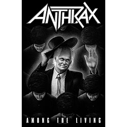 Anthrax Textile Poster: Among The Living
