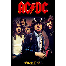 AC/DC Textile Poster: Highway To Hell
