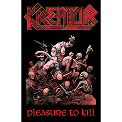 Kreator Textile Poster: Pleasure To Kill