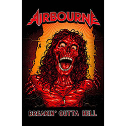 Airbourne Textile Poster: Breakin' Outta Hell