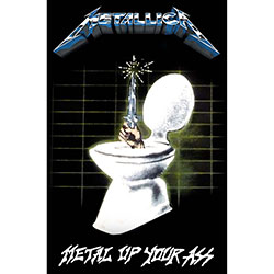 Metallica Textile Poster: Metal Up Your Ass