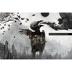 Katatonia Textile Poster: Dead End Kings