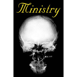 Ministry Textile Poster: Mind Is A Terrible Thing To Taste