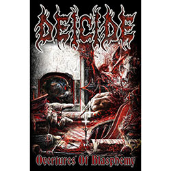 Deicide Textile Poster: Overtures Of Blasphemy