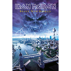 Iron Maiden Textile Poster: Brave New World