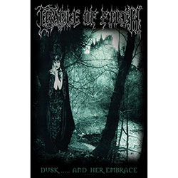 Cradle Of Filth Textile Poster: Dusk And Her Embrace