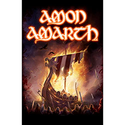 Amon Amarth Textile Poster: 1000 Burning Arrows