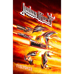 Judas Priest Textile Poster: Firepower