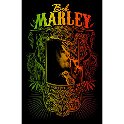 Bob Marley Textile Poster: Touch The Sky