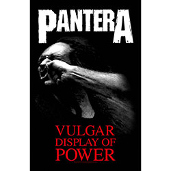 Pantera Textile Poster: Vulgar Display Of Power