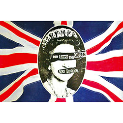 The Sex Pistols Textile Poster: God Save The Queen