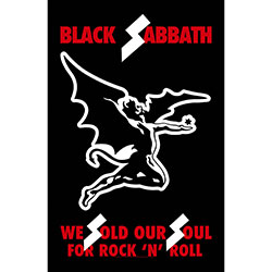 Black Sabbath Textile Poster: We Sold Our Souls