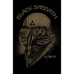 Black Sabbath Textile Poster: Us Tour '78