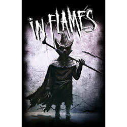In Flames Textile Poster: I, The Mask
