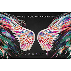 Bullet For My Valentine Textile Poster: Gravity