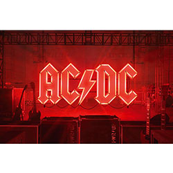 AC/DC Textile Poster: PWR-UP