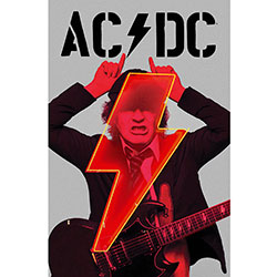 AC/DC Textile Poster: PWR-UP Angus
