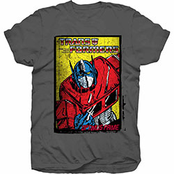Hasbro Unisex Tee: Transformers Optimus Prime Comic