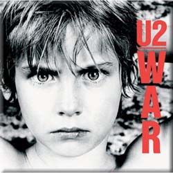 U2 Fridge Magnet: War