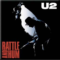 U2 Fridge Magnet: Rattle & Hum