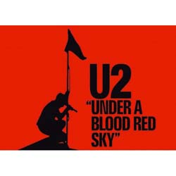U2 Postcard: Under a Blood Red Sky (Standard)