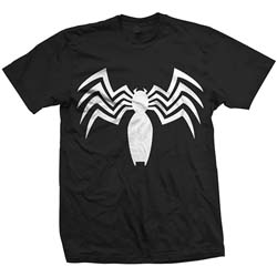Marvel Comics Unisex Tee: Ultimate Spiderman Venom