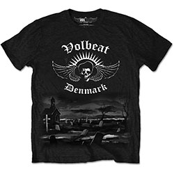 Volbeat Men's Tee: Graveyard